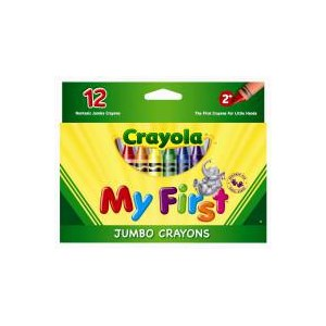 Crayola My First Jumbo Crayons 12 Pack