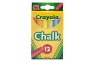 Crayola Colored Chalk Sticks 12 Pack