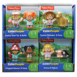 Fisher-price Little People 2 Figure Pack Assorted