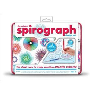 Spirograph Design Set In Tin