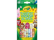 Crayola Doodle Scented Markers 18 Pack
