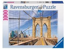 Ravensburger Brooklyn Bridge View 1000 Piece Puzzle