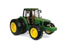 Big Farm John Deere Tractor With Rear Dual Wheels 1:16