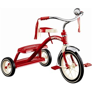 Radio Flyer Classic Dual Deck Tricycle Red