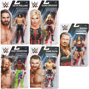 Wwe Basic Figures Assorted