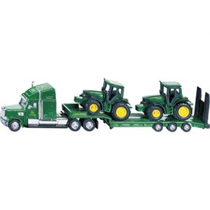 Siku Low Loader With John Deere Tractors 1837 1:87