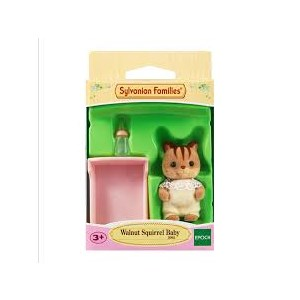 Sylvanian Families Walnut Squirrel Baby
