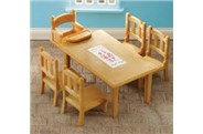 Sylvanian Families Family Table & Chairs