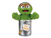 Sesame Street Oscar The Grouch Soft Toy Small