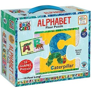 Very Hungry Caterpillar Alphabet Floor Puzzle