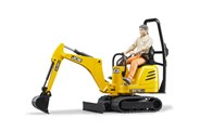 Bruder Lcb Micro Excavatir 8010cts With Construction Worker