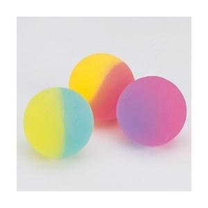 Hi Bounce Ball Two Tone Icy