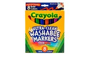 Crayola Ultra Clean Bold Broadline Markers 10 Pack