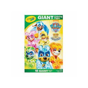 Crayola Giant Coloring Pages Paw Patrol