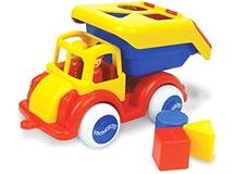 Viking Jumbo Shape Truck With 2 Figures