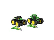 John Deere Monster Treads Key Launcher Assorted
