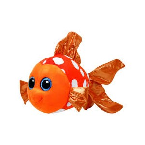 Beanie Boo's Sami Orange Fish Medium