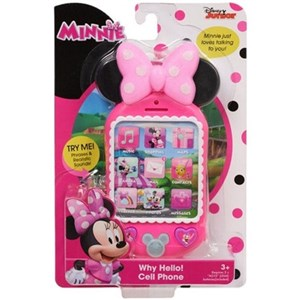 Disney Junior Minnie Why Hello Cell Phone