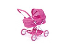 Bayer Smarty Doll Pram Pink