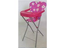 Playworld Pink Dolls High Chair