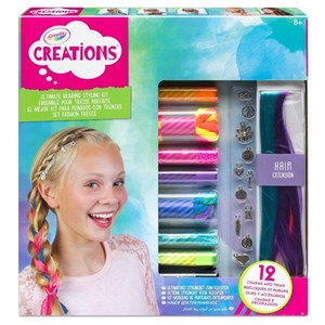 Crayola Creations Ultimate Braiding Styling Kit
