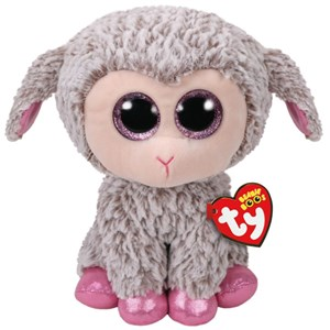 Beanie Boo's Dixie Grey Lamb Medium
