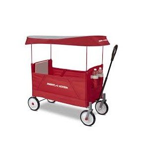 Radio Flyer Ez Fold Wagon With Canopy