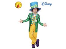 Mad Hatter Boys Deluxe Costume Size 6-8