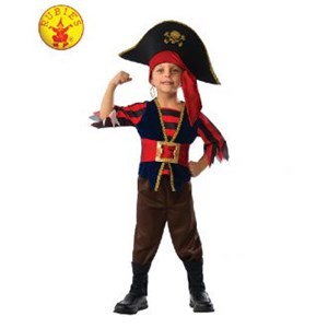 Shipmate Pirate Costume Size M 6-8