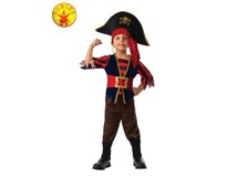 Shipmate Pirate Costume Size 6-8