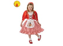Red Riding Hood Costume Size Medium 6-8 Years
