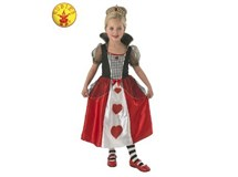 Queen Of Hearts Costume Size 5-6
