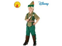 Peter Pan Deluxe Child Costume Size Large 7-8