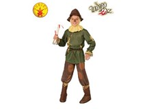 Wizard Of Oz Scarecrow Costume Size Small 3-4