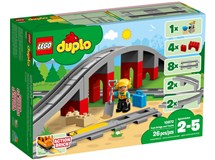 Lego Duplo 10872 Train Bridge & Tracks