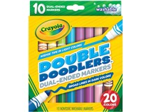 Crayola Double Doodlers Dual Ended Markers 10 Pack