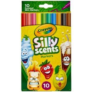 Crayola Silly Scents Markers 10 Pack