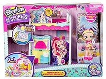 Shopkins Lil Secrets Bedroom Hideaway