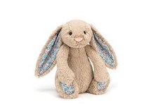 Jellycat Bashful Blossom Bunny Beige Small