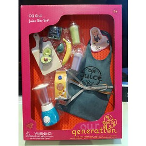 Our Generation Grill Juice Bar Set