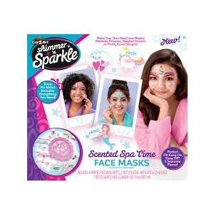 Crazart Shimmer N Sparkle Scented Spa Time Face Masks
