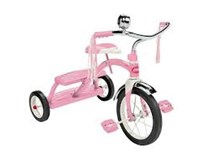 Radio Flyer Classic Dual Deck Tricycle Pink
