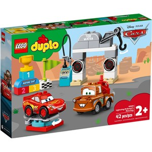 Lego Duplo 10924 Lighting Mcqueen's Race Day