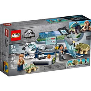 Lego Jurassic World 75939 Dr. Wu's Lab Baby Dinosaurs Breakout