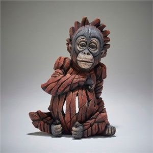 Edge Sculpture Baby Orangutan Figure