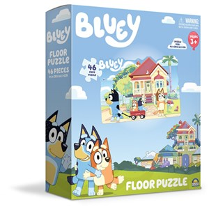 Bluey 46 Piece Floor Puzzle
